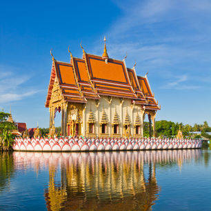 Thailand-KohSamui-tempel-water