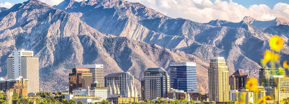 Verenigde-Staten-Rockies-Salt-Lake-City-skyline