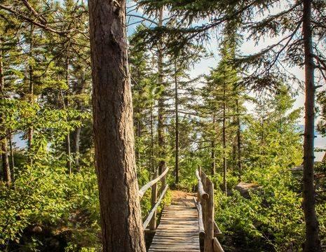 Canada-Saguenay-Wandelpad