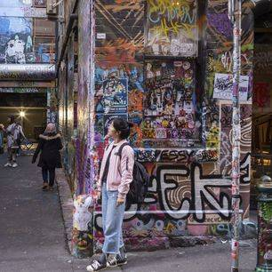 Australie-Melbourne-streetart