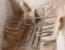 Tombes in Sipan en piramides in Tucume