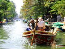 Boottocht door Hamilton Canal