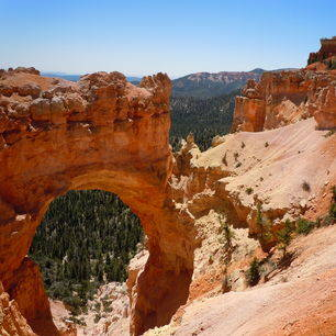 Amerika-Bryce-Canyon-Uitzicht
