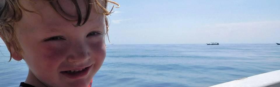 snorkelen bij Bali met kinderen