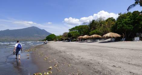 Nicaragua-Ometepe-Strandwandeling