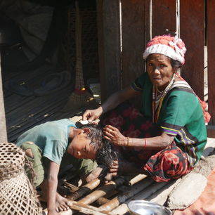 Myanmar-Mindat-wassen