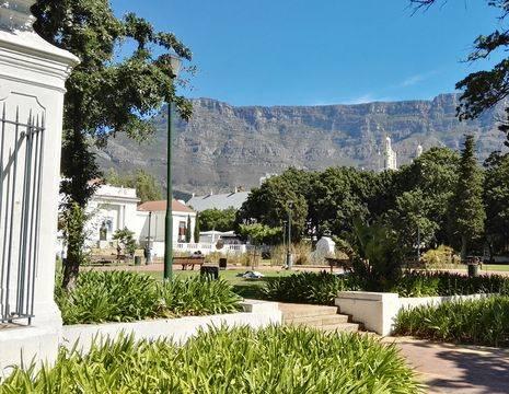 De Company Gardens van Kaapstad, Zuid-Afrika