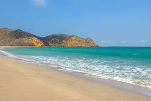 Playa de los Frailes en de Agua Blanca community