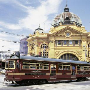 Australie-Melbourne-Flinders-Station