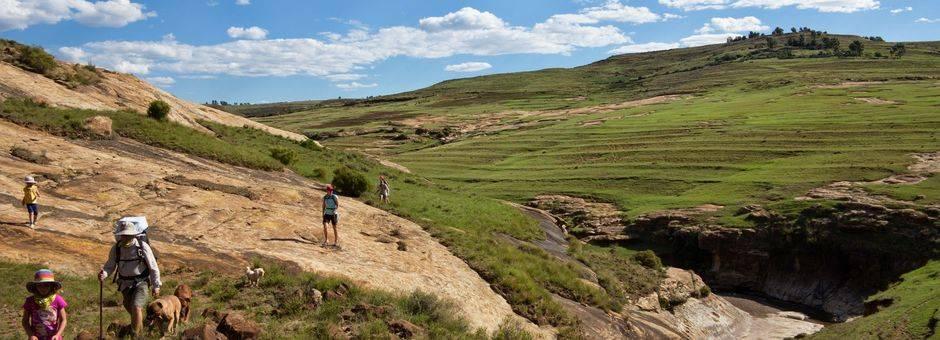 Lesotho-Malelealea-traditioneel-Basothohuisje(11)
