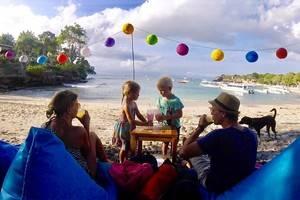 Reizen met kinderen, ons plan