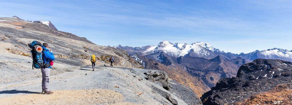 Uitzichten met de El Choro trekking - Bolivia
