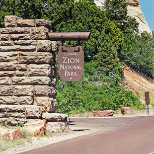 Amerika-Zion-National-Park-Leaving