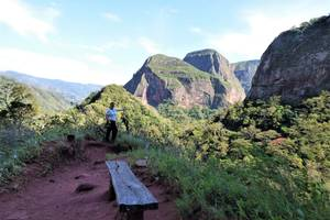 Mooie uitzichten over Amboró National Park - Bolivia