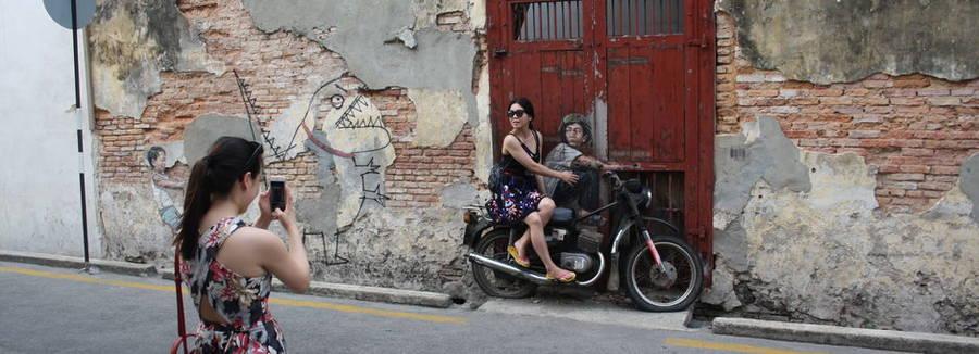 Streetart Maleisië