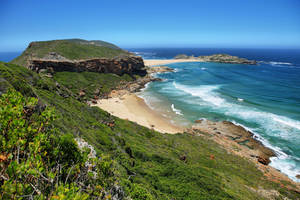 Zuid-Afrika-Tuinroute-strand-Zuid-Afrika