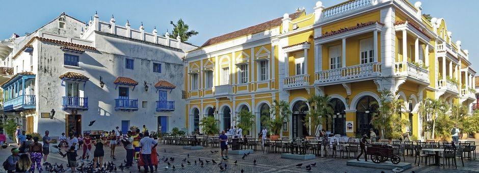 Colombia-Cartagena-Plein