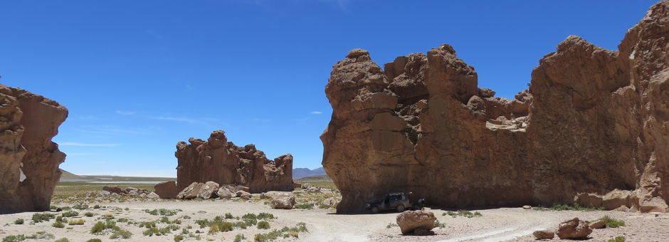 Rotsformaties in Uyuni - Bolivia