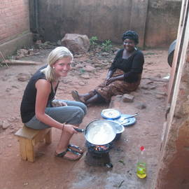 Charelle in Malawi