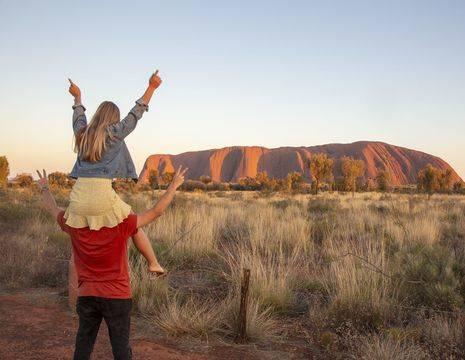 Australie-Uluru-Kata-Tjuta-rotsen