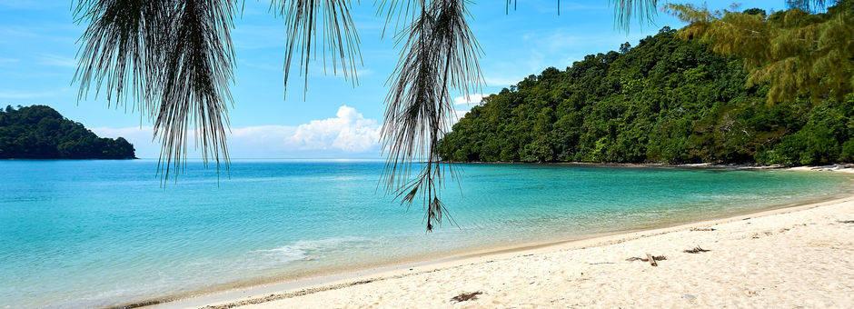 Lekker relaxen aan het strand op Langkawi