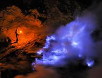 Ijen: Blauw vuur, nachttrekking Ijen