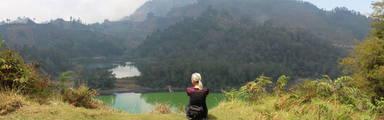 uitzicht bij Diëng Plateau, Wonosobo