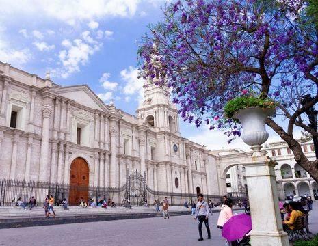 Chili-Santiago-de-Chili-Plaza-de-Armas