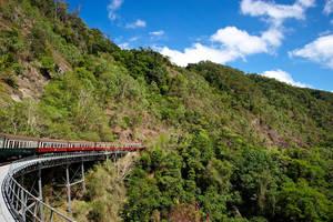 Bijzondere treinreis Australië