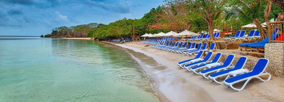 Relaxen op het strand van Isla del Encanto