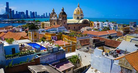 Colombia-Cartagena-Uitzicht