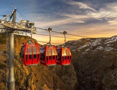 Amerika-Verenigde-Staten-Colorado-Springs-Royal-Gorge-Gondolas