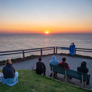 Australie-Byron-Bay-zonsondergang