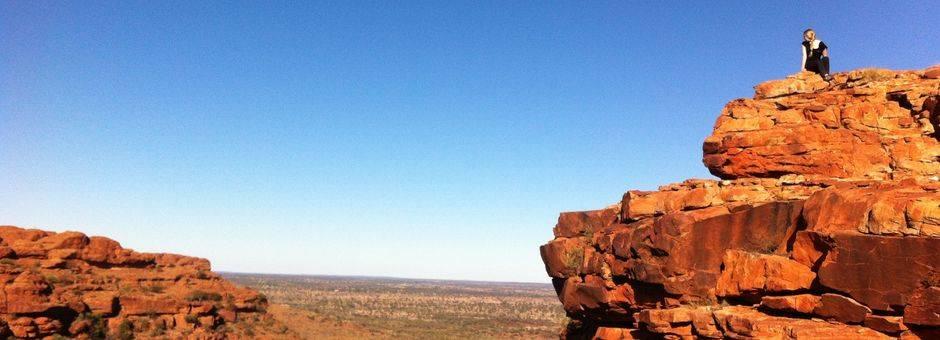 Australie-Kings-Canyon-Melany