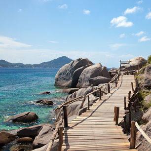 Thailand-KohTao-wandelpad