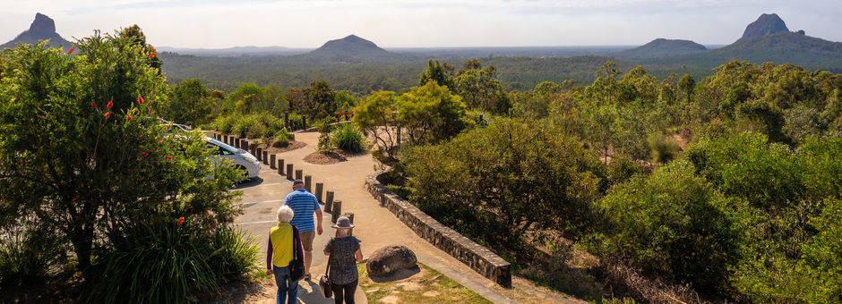 Australie-Glasshouse-Mountains-wandelen