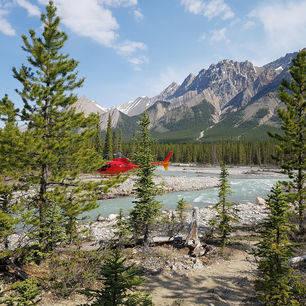 Canada-Glacier-National-Park-Helikopter