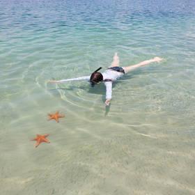 Snorkelen bij Bocas del Toro in Panama