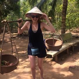 Melany in Vietnam