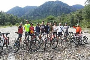 Bukit Lawang: Fietstocht