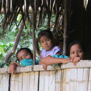 De Qichwa Añangu gemeenschap in de Amazone