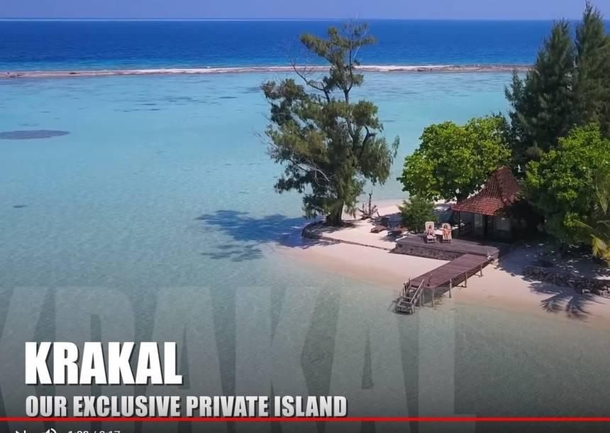 Bekijk de video van Bounty eiland Kura Kura