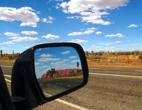Australie-Uluru-onderweg