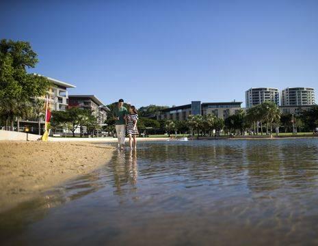 Australie-Darwin-waterfront