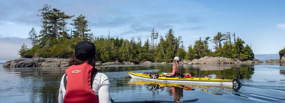 Canada-Port-McNeill-kanovaren