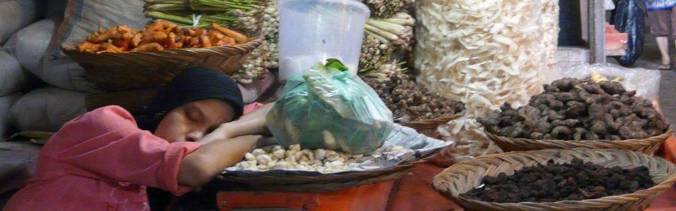 Een keukenprinses op Sumatra
