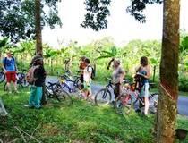 Fietsen nabij Melaka