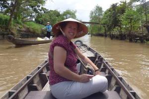 Een dagtourtje naar de Mekongdelta.