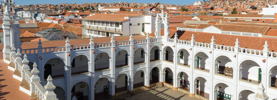 Koloniale gebouwen in Sucre - Bolivia