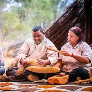 Australie-Kings-Canyon-Aboriginal